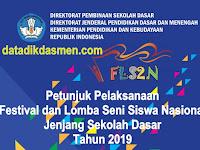 Petunjuk Pelaksanaan FLS2N SD/MI Tahun 2019