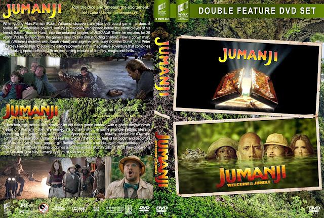 Jumanji Double Feature DVD Cover