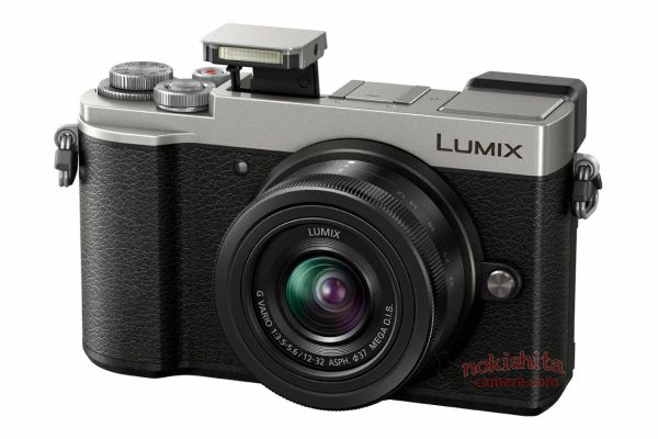 Panasonic Lumix GX9, с выдвинутой вспышкой