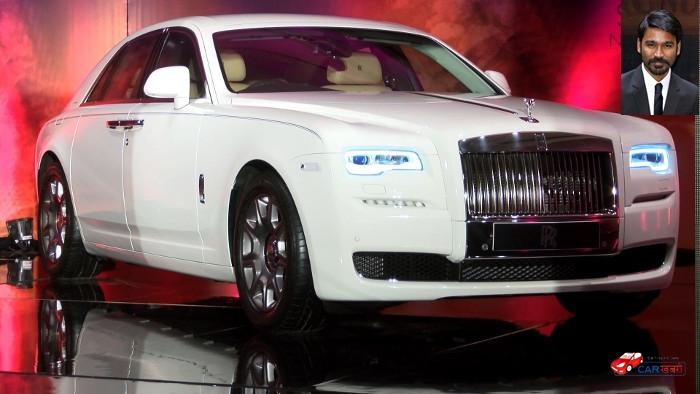 Dhanush's Rolls-Royce Ghost Series II