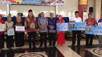 Pemprov Lampung Telah Menyalurkan Dana 143 Milyar Lebih Bagi Infrastruktur Lampung Tengah