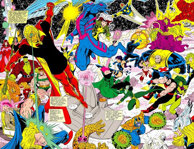 La Guardia del Infinito vs Los Héroes de la Tierra