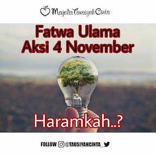 Fatwa Ulama Aksi 4 November