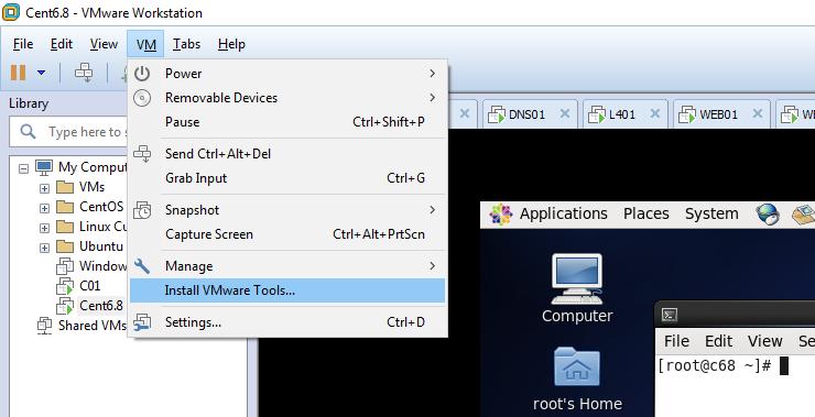 Sunguru IT Channel 01: Installing VMware Tools in CentOS 7 3