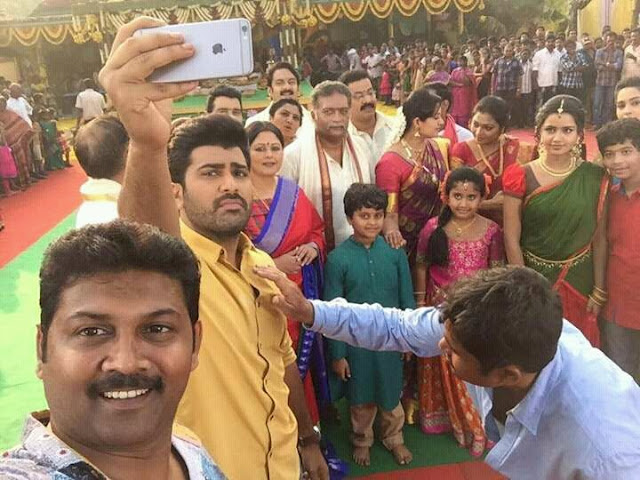 Shatamanam bhavathi Movie Latest Photos, Working Stills