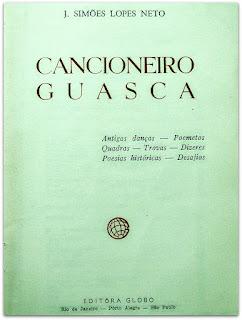 Cancioneiro Guasca - Simões Lopes Neto - Biblioteca Pública do Estado do RS