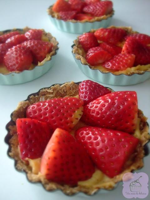 Tartelettes aux fraises fit