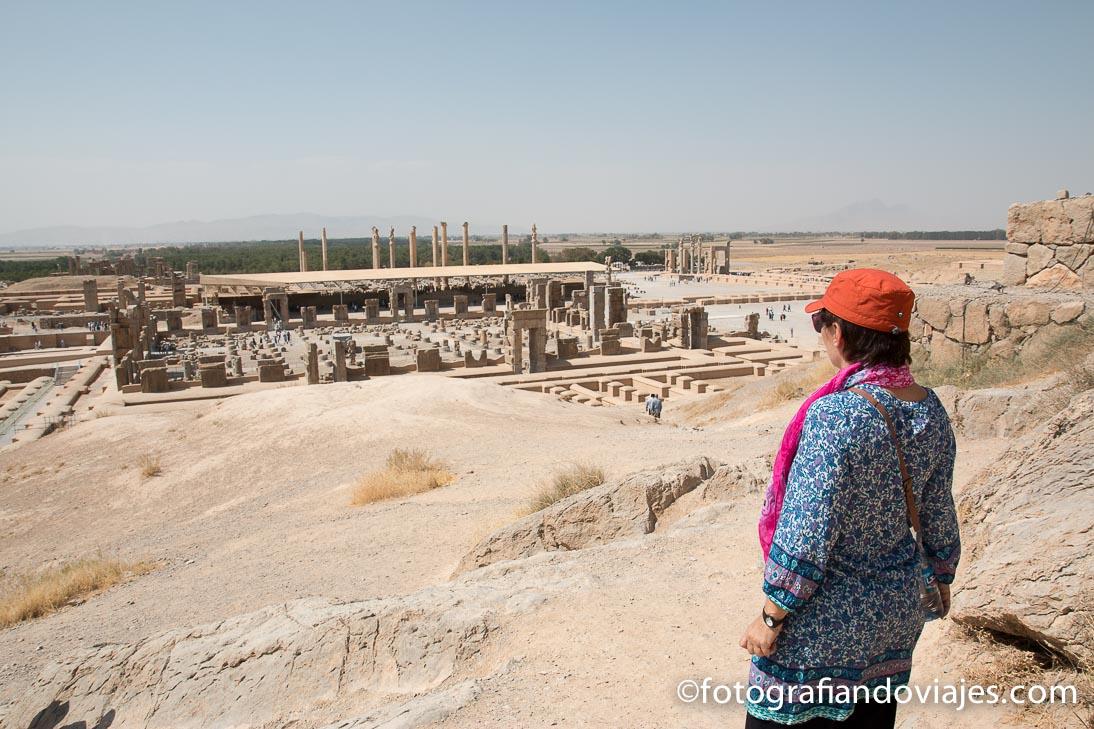 Ruinas de Persépolis, Shiraz, Iran