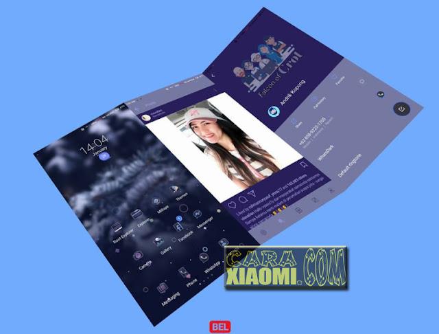 Download Link MIUI Thema Falcon of Crott Update Mtz For Xiaomi V9 Theme