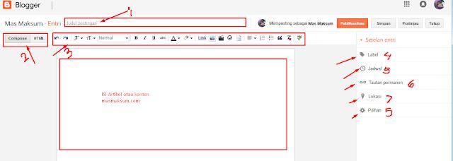 Mudah Membuat Blog Di Blogger Untuk Pemula