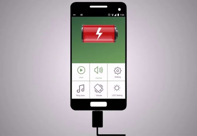 Smartphone Battery Charging