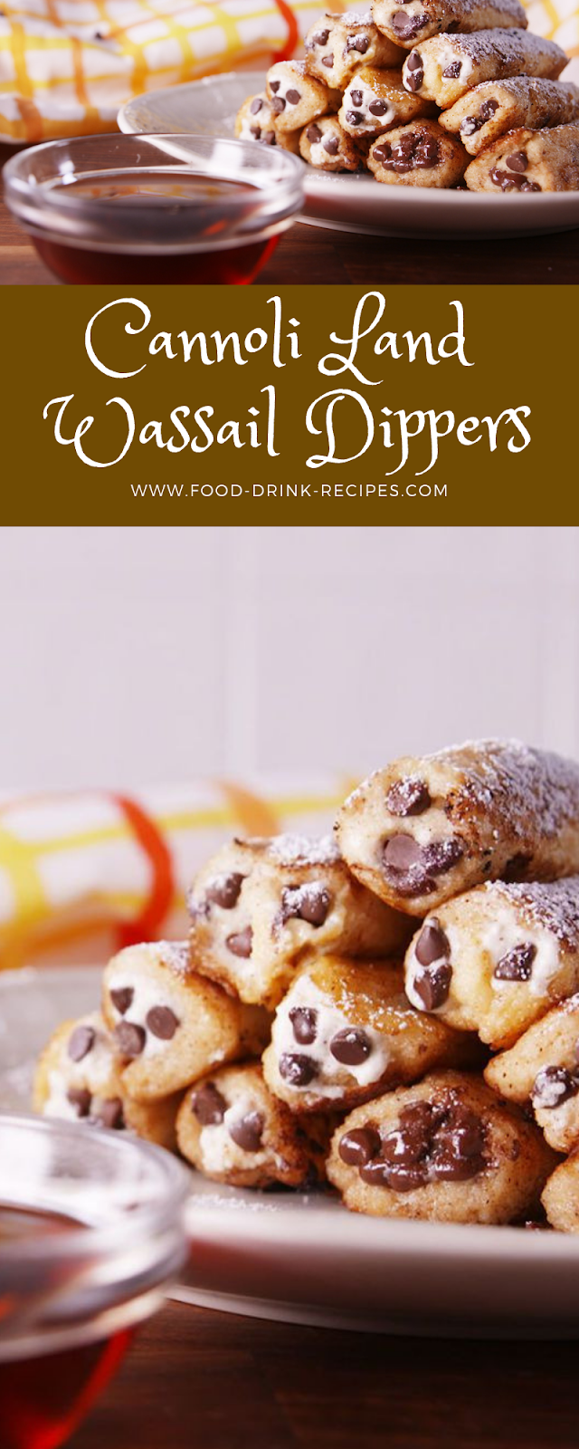 Cannoli Land Wassail Dippers