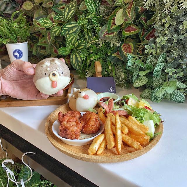 台南中西區早午餐【豆弄.手作】可愛柴犬饅頭