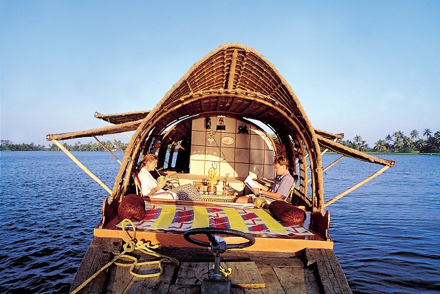 Alapuzza Houseboats in Kerala