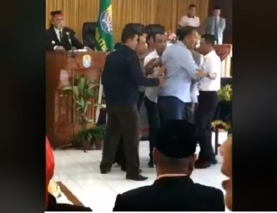 Beredar Video Bupati dan Wakil Bupati Tolitoli Ribut Saat Pelantikan Pejabat