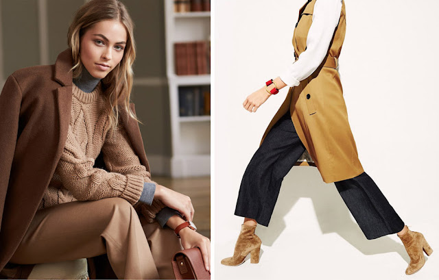 Пальто и брюки из шерсти и свитер из кашемира