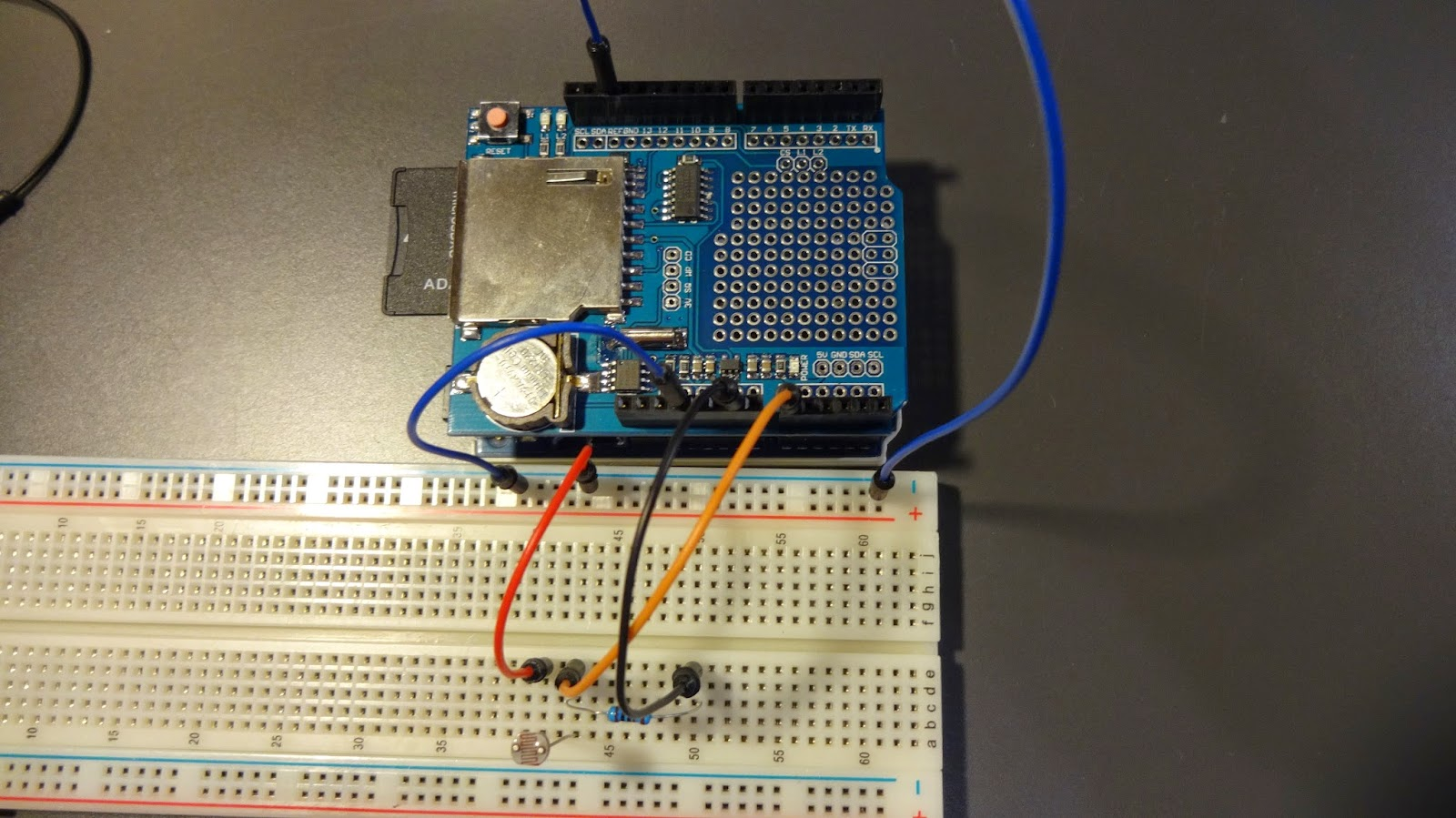DSC00785 - Tutorial Arduino: Módulo Shield Data Logging SD
