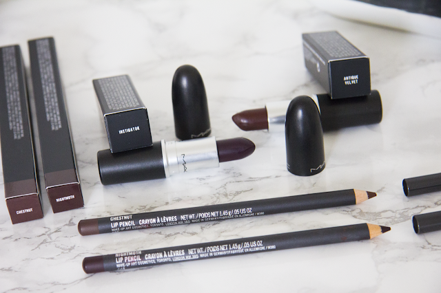 Vampy matte lips for fall with MAC