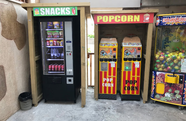 snack machines at pirates village hotel majorca