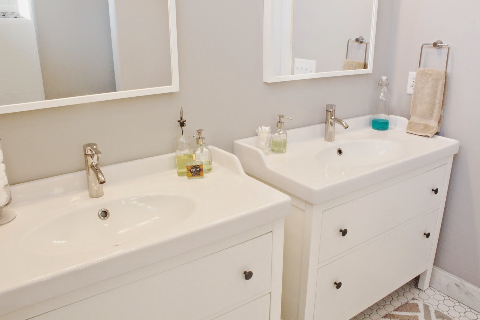 Lemongrass project galloway barn - Vanities for small bathrooms ikea ...