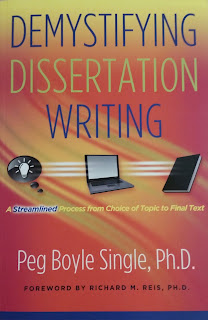 Book Cover - Peg Boyle Single - Demystifying Dissertations