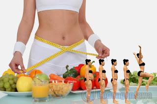 Empat Tips Jitu Diet Cepat Kurus Alami dan Sehat dalam 1 Minggu