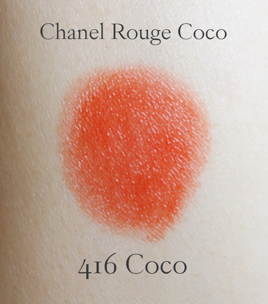 Chanel Rouge Coco Ultra Hydrating Lip Colour 416 Coco swatch