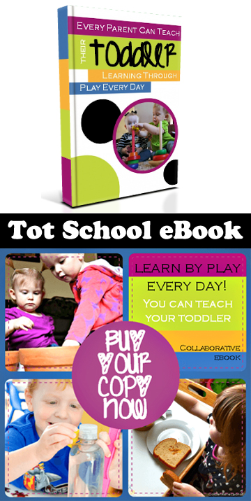 Tot School eBook: Every Parent Can Teach their Toddler