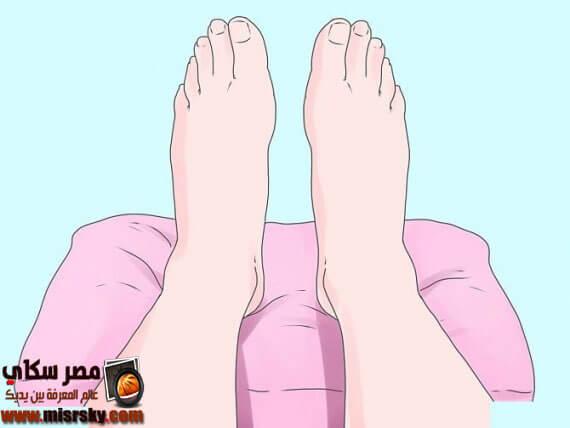 انتفاخ القدمين وتساقط الشعر عند المرأة الحلمل وكيفية الوقاية والعلاج