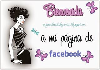tarjeta de bienvenida para pagina de facebook