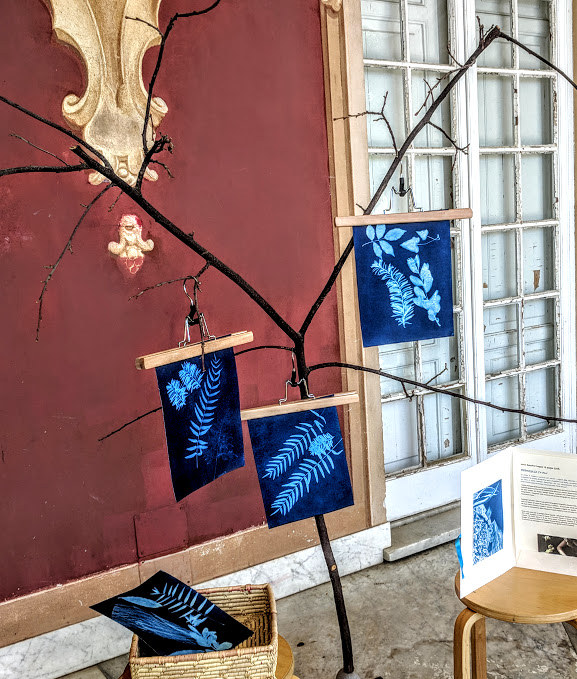 How to spend a weekend in Genoa with kids - Nervi cyanotype technique at museum