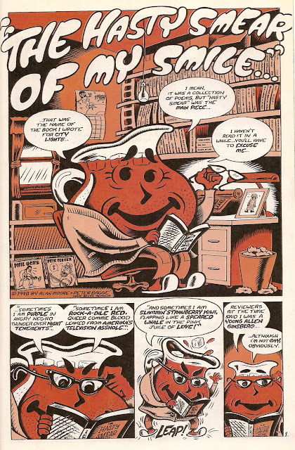 That time Alan Moore wrote the autobiography of the Kool-Aid Man