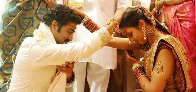 Jr NTR Marriage Photo