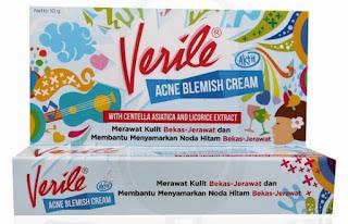 Tips Menghilangkan Noda Hitam Dan Bekas Jerawat Dengan Verile Acne Blemish Cream