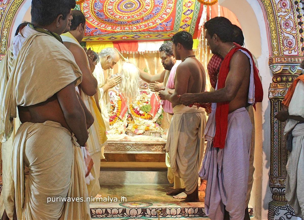 Rukmini Bibaha and Champak Dwadashi Festival of Jagannath Temple Puri