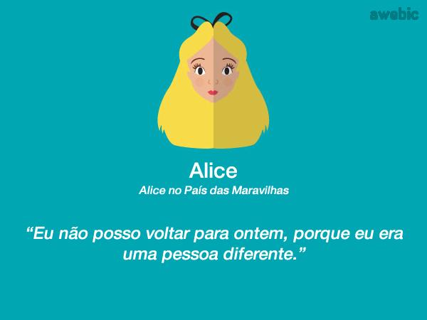 Frases Do Livro Alice No Pais Das Maravilhas