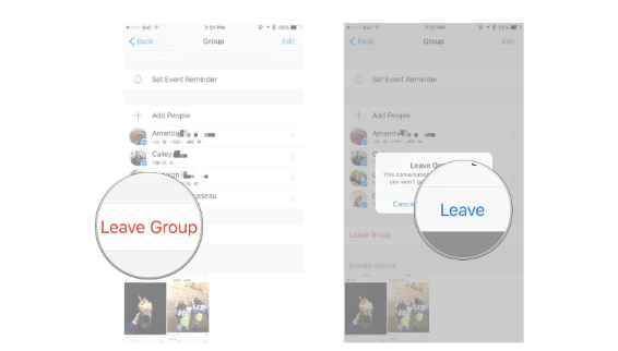 How to Leave a Facebook Group Message Conversation on Iphone and Ipad
