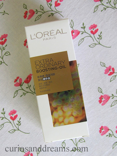 L'Oreal Paris Extraordinary Boosting Oil review, L'Oreal Paris Extraordinary Boosting Oil india