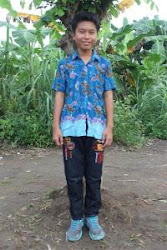 Our sponsored child, Ucok