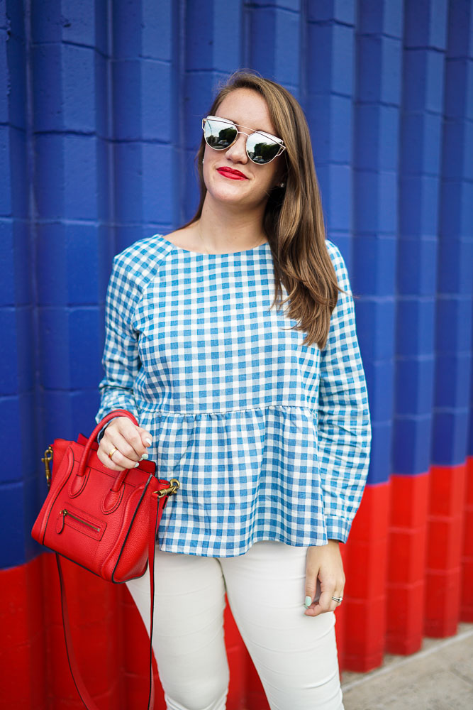 Tuckernuck, Gingham Top, Preppy Style, Preppy Fashion