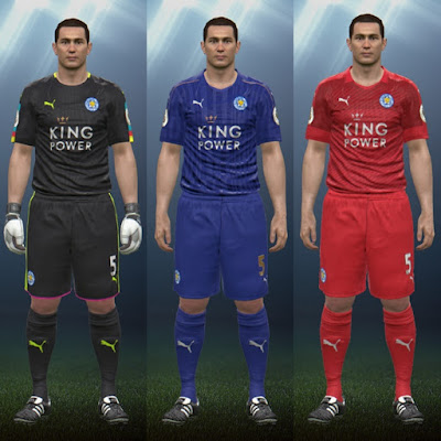 Leicester City FC 16/17 Kits