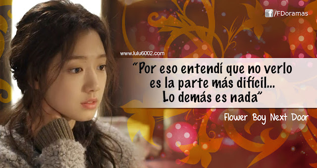 Flower Boy Next Door frases