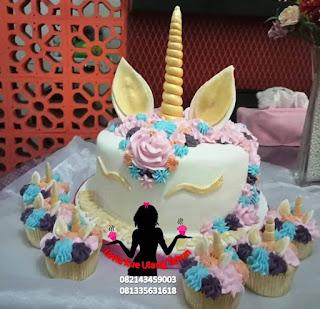 Jual Kue Tart Ulang Tahun Tema Unicorn
