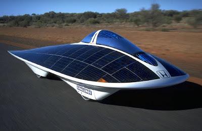 Mobil Mewah Bertenaga Solar