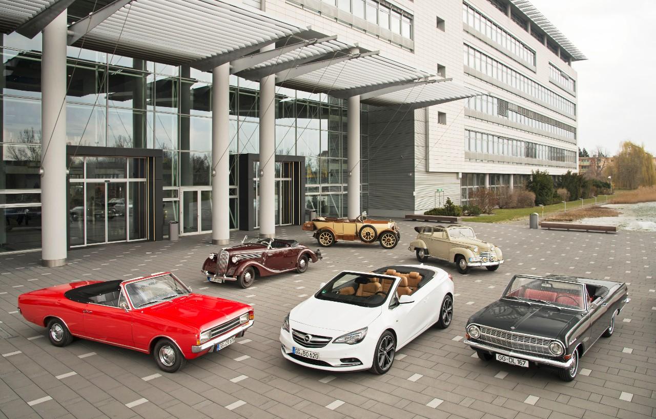 Rallye Hessen-Thüringen: H πλούσια κληρονομιά των Opel Cabrio