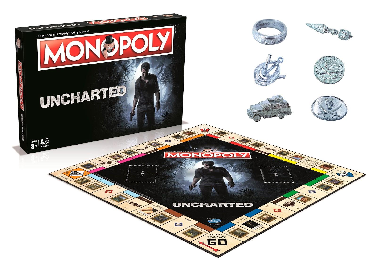 Se anuncia Monopoly de Uncharted