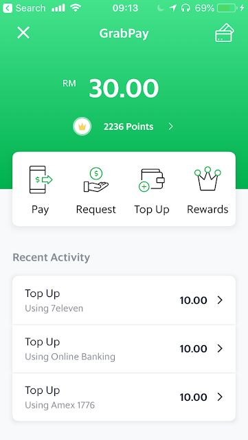 GrabPay - pay, send, request money