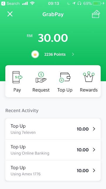 GrabPay - pay, send, request money