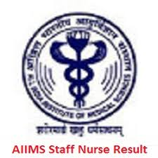AIIMS Rishikesh Staff Nurse Result Nurse Gr-II (2nd) Wait-List