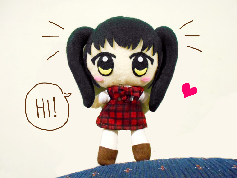 Boneka Bone - Handmade Anime Plush Dolls